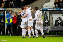 Swansea City 2-1 Southampton: Visitors succumb to another away defeat against united Swans
