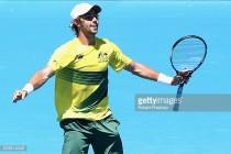 Davis Cup: Jordan Thompson sweeps past Jiri Vesely to give Australia 1-0 lead