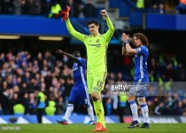"Chelsea ""don't want to relax"" in title run-in, says Thibaut Courtois"