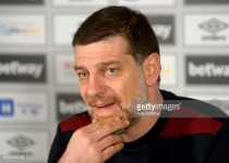 """Getting to 40 points is West Ham's """"first target"""", states Slaven Bilic"""