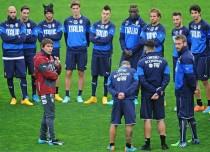 Conte, obligado a hacer cambios en la 'Azzurra' debido a las lesiones