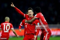 Hertha BSC 1-1 Bayern Munich: Brave hosts denied by late Lewandowski equaliser