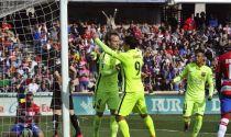 Granada al tappeto, il Barcellona avvicina il Real
