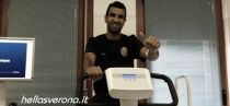Mounir Obbadi à l'Hellas Vérone