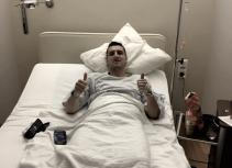 Kuzmanovic, operado con éxito y baja para los próximos meses