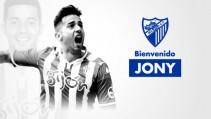 El Málaga hace oficial el fichaje de Jony