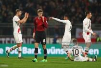 1. FCNürnberg0-2 FC St. Pauli: Bouhaddouz double revives survival push