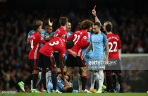 """José Mourinho admits Marouane Fellaini gave referee """"a chance"""" to send him off in derby draw"""
