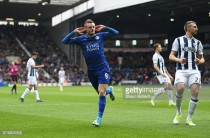 West Brom 0-1 Leicester City: Vardy finishes calmly as Foxes reach 40 points