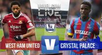 Score match West Ham United vs Crystal Palace Live and BPL Scores 2015