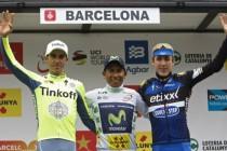 Nairo Quintana triunfa en Barcelona