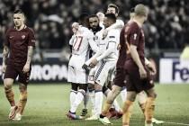 Lyon vence Roma e abre vantagem no confronto por vaga nas quartas da Uefa Europa League