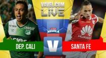 En Partido Discreto Deportivo Cali empató 0-0 con Independiente Santa Fe