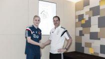 Van de Beek amplía su contrato hasta 2018