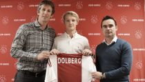 Kasper Dolberg, nuevo jugador del Ajax