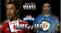 América vs. Jaguares: los 'diablos rojos' reciben a un rival directo