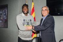 """Caicedo: """"Espero seguir mucho años en el Espanyol"""""""