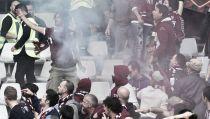 """Derby di Torino, la Polizia: """"Bomba lanciata dai tifosi della Juve"""""""