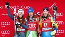Sci Alpino - Lake Louise, discesa femminile: vince la Stuhec, ma la Goggia è splendida seconda