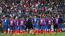 Francia - Rumanía: puntuaciones Francia