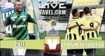 Final del partido: Cali 3 - Alianza 2, Liga Águila 2016.