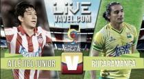 Resultado final: Atlético Junior - Atlético Bucaramanga partido Liga Águila 2016 (1-1)