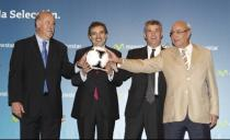 Movistar patrocinará a la Selección hasta el Mundial de Brasil