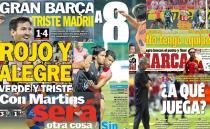 Las portadas del 16 de septiembre de 2012
