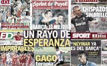 Las portadas del 25 de septiembre de 2012