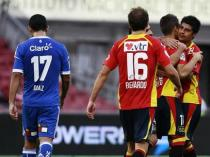 Unión Española goleó a la U en el Nacional