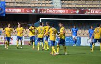 Xerez CD - UD Las Palmas: puntuaciones Xerez, jornada 35