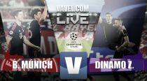 Resultado Bayern de Múnich vs Dínamo Zagreb en Champions League 2015 (5-0)