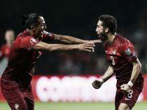 Moutinho mete a Portugal en la Eurocopa