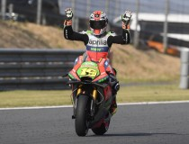 Bautista claims Aprilia's best result in Motegi
