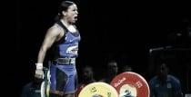 Mercedes Pérez, diploma olímpico en levantamiento de pesas