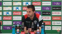 """Rubén Baraja: """"Trataremos de ganar en Alcorcón"""""""