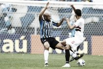 """Após a derrota para o São Paulo, jogadores gremistas explodem com a arbitragem: """"Toda vez é isso"""""""