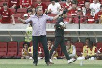 Abel Braga critica postura do Internacional na derrota para o Corinthians