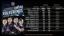 Facilidades para ir al Levante - Sevilla Atlético