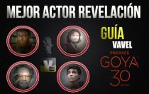 Camino a Los Goya 2016: mejor actor revelación