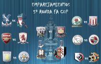 Sorteada la 5ª ronda de la FA Cup