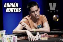 """Entrevista. Adrián Mateos: """"Por las mañanas iba a la universidad y por las tardes al casino"""""""