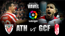Previa Athletic Club - Granada CF: duelo de dinámicas cruzadas