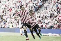 """Aduriz: """"Contento porque los goles han servido para sumar"""""""