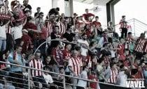 Hasta 200 aficionados de la UD Almería podrían estar en La Condomina