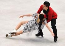 Europei pattinaggio di figura: strepitosi Cappellini/Lanotte, comandano la short dance. Quarti Guignard/Fabbri