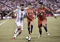 "Agüero lamenta novo vice-campeonato contra o Chile: ""Sorte novamente esteve contra nós"""