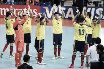 Grand Prix de Brasil: próxima parada de la selección Colombia de Futsal