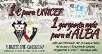 El Albacete Balompié colaborará con UNICEF