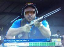 Alberto Fernández, plata y plaza olímpica en el Europeo de tiro